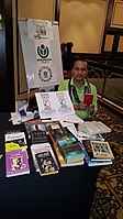 BookSwapping at Wikimania 2018 20180722 151806 (26).jpg