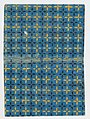 Book cover with blue and yellow cross pattern Met DP886583.jpg