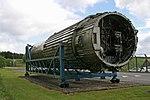 Booster stage of a Blue Streak rocket, RAF Spadeadam.jpg