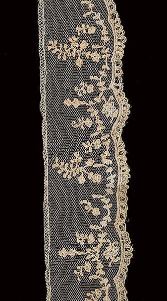 File:Border (ST310) - Lace-Applique Needle Lace - MoMu Antwerp.jpg