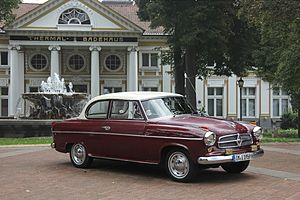 Borgward - Borgward Isabella built in 1959