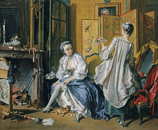Boucher toilette 1742