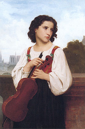 Alone in the World (Bouguereau) - Alone in the World (c.1867)