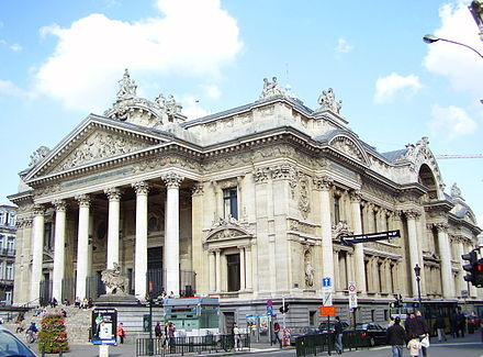 The Brussels Stock Exchange Bourse Bxl 01.JPG