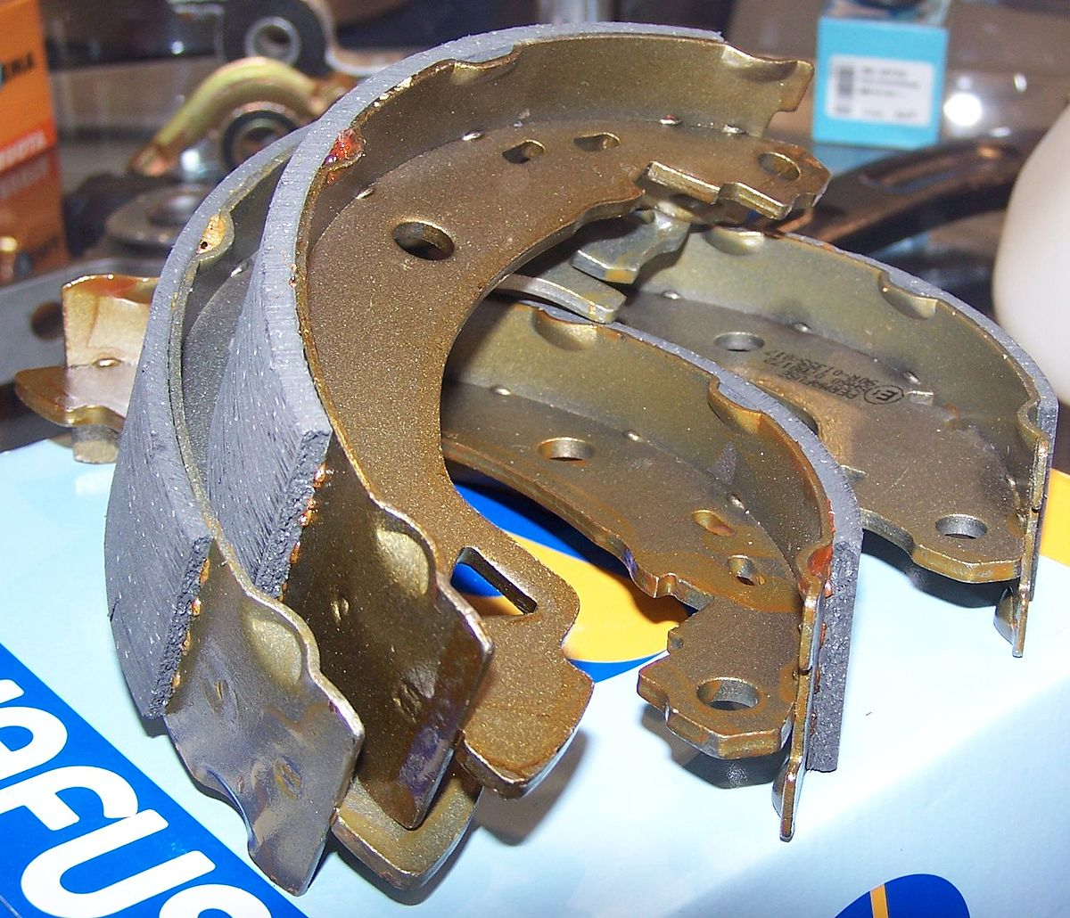 Brake Shoe Thickness In 32nds : Brake lining wikipedia