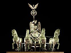 Brandenburg Gate Quadriga at Night.jpg