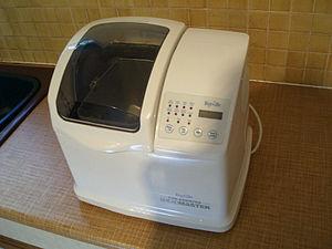 Bread machine - A bread machine, or bread maker