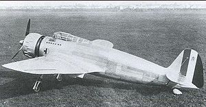 Breda Ba.65 - Image: Breda Ba.65 on ground