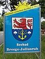 Breege, Wappen Ortseingang.jpg