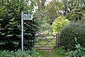 Bridleway and fingerpost Lower Beeding, West Sussex, England 1.jpg