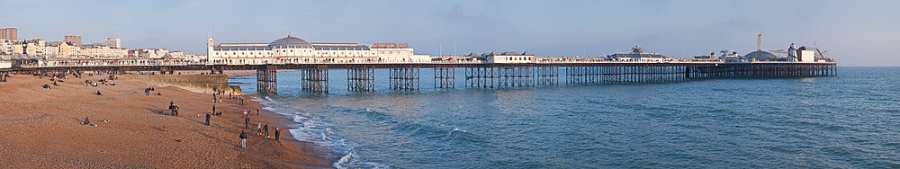 Brighton Marine Palace and Pier og Brighton Beach