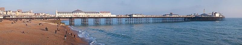 Brighton Pier, England - Feb 2009
