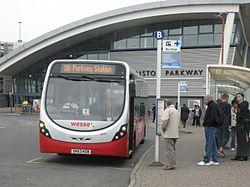 Bristol Parkway station - Wessex 30529 (SN63KOB).JPG