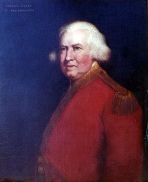 James Grant (British Army officer, born 1720) - Portrait of James Grant of Ballindalloch, circa 1770, currently held by the State Archives of Florida.