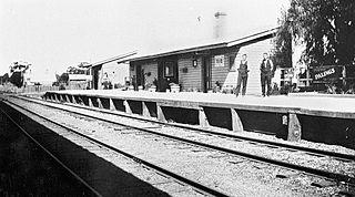 Corowa railway line