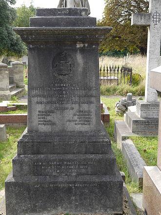 Charles Stephen Gore - Brompton Cemetery monument