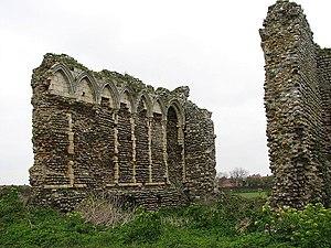John Paston (died 1466) - Ruins of Bromholm Priory, Norfolk, where John Paston was buried