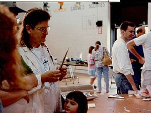 Bruce Sterling - Sterling at Robofest '94