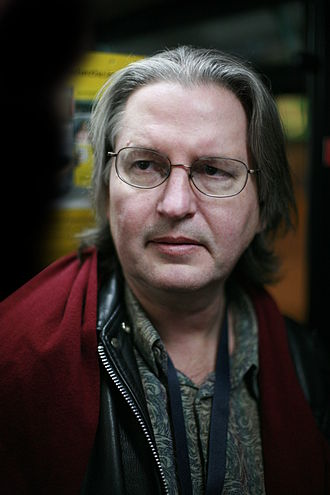 "William Gibson - Bruce Sterling, co-author with Gibson of the short story ""Red Star, Winter Orbit"" (1983) and the 1990 steampunk novel The Difference Engine"