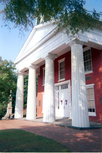 National Register of Historic Places listings in Brunswick County, Virginia - Image: Brunswick County Courthouse, Lawrenceville, (Brunswick County, Virginia)