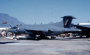 24 Squadron SAAF - Hawker Siddeley Buccaneer S.Mk 50 no. 418 of 24 Sqn