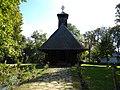 Bucharest, Romania. National Village Museum. Church from Timiseni, Gorj 1773.jpg