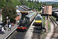 Buckfastleigh - 5542 and D7612.JPG