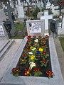 Bucuresti, Romania, Cimitirul Bellu Catolic. Mormantul compozitorului Dan Iagnov. 18 Martie 2o17. (2).jpg