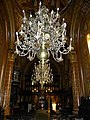 Bucuresti, Romania. BISERICA AMZEI. (Plafon cu candelabru) (B-II-m-B-18148).jpg