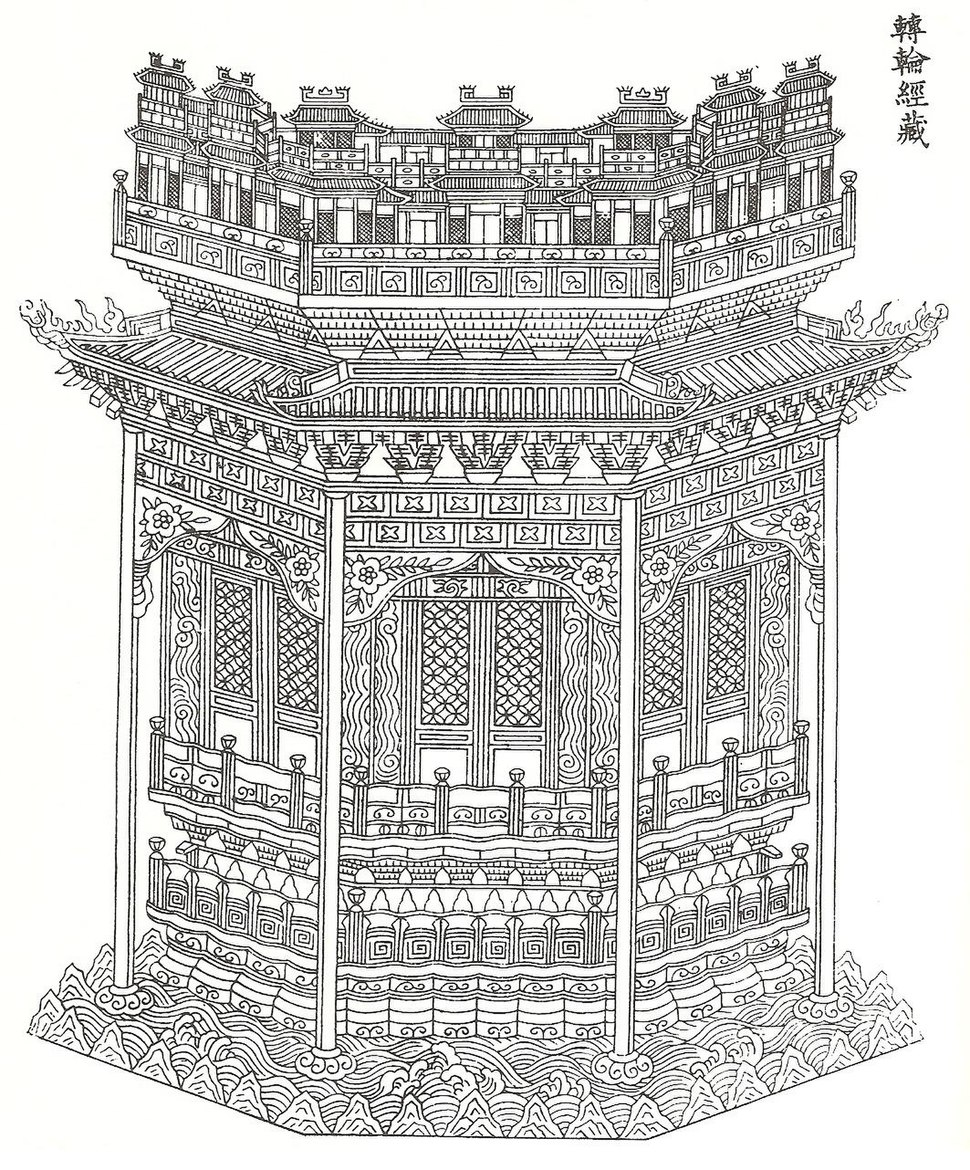 Buddhist ark used by Chinese Jews