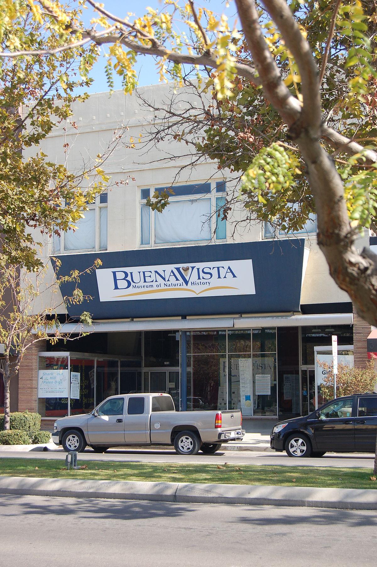 Buena Vista Museum Of Natural History Bakersfield Ca