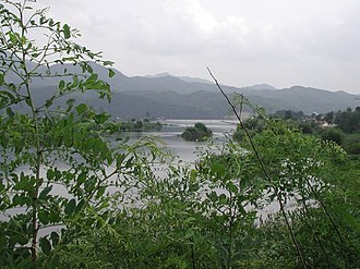 Bukhan River - The Bukhan River flowing through Gapyeong, South Korea.