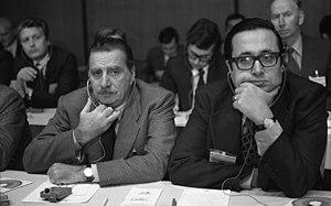 Lorenzo Natali - Lorenzo Natali, left, 1978