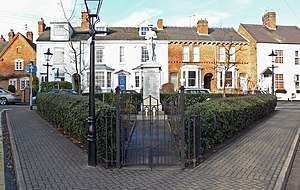 Burbage, Leicestershire - Image: Burbage War Memorial geograph.org.uk 660582