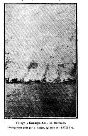Yalova Peninsula massacres - Burning of Karacaali village.