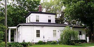 "William Austin Burt - William Burt's ""wedding cake house"" in Washington Township, Michigan"