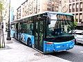 Bus city versus Scania of the EMT - Madrid.JPG