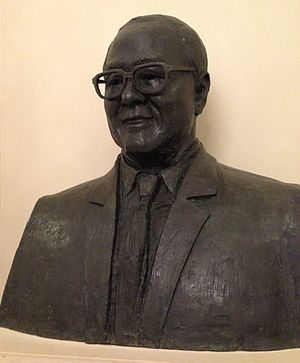 Khoo Teck Puat - A bust of Khoo in the lobby of Goodwood Park Hotel, Singapore