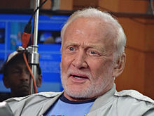 Buzz Aldrin at NatBookFest15 during C-SPAN2 Book TV interview - 1.jpg