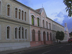 1875 Cúcuta earthquake - The Julio Pérez Ferrero Library, one of the oldest buildings of Cúcuta.