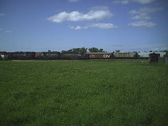 Central Manitoba Railway - Image: CEMR Transcona Yard