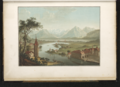 CH-NB - -Lac et ville de Thun, avec la rivière de l'Aar, prise à Vue d'Oiseau- de la Terrasse du Chateau- - Collection Gugelmann - GS-GUGE-218-65.tif