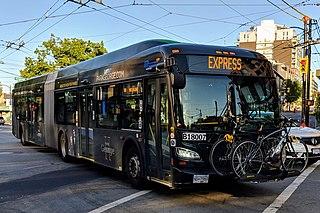 Express bus service in Metro Vancouver, Canada