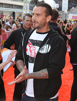 CM Punk ai Nickelodeon Australian Kids' Choice Awards nel 2011