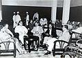 COLLECTIE TROPENMUSEUM Besprekingen tijdens de onderhandelingen tussen Nederland en Indonesië TMnr 60054596.jpg