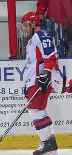 Mat Robinson Canadian ice hockey defenceman