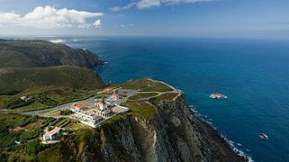 Cabo da Roca from the air