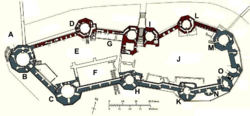 Caernarfon Castle plan labelled.png