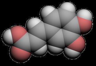 Caffeic acid - Image: Caffeic Acid 3d