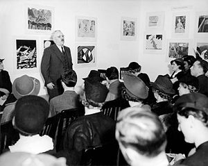 Holger Cahill - Holger Cahill, national director of the Federal Art Project, speaking at the Harlem Community Art Center (October 24, 1938)